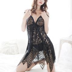 Lace Classic Feminine Sleepwear (041203533)