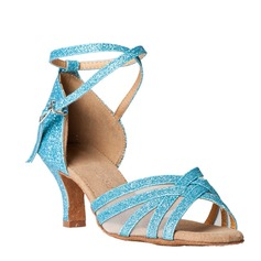 Women's Sparkling Glitter Sandals Latin Dance Shoes (053012991)