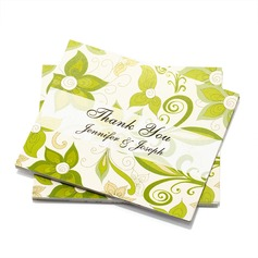 Personalized Floral Style Thank You Cards (Set of 50) (114054976)