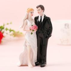Coppia Classic/Sposa e Sposo Resina Decorazioni per torte (Venduto in un unico pezzo) (119187421)