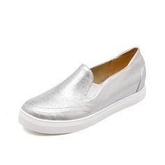 Doek Flat Heel Flats Closed Toe schoenen (086066672)