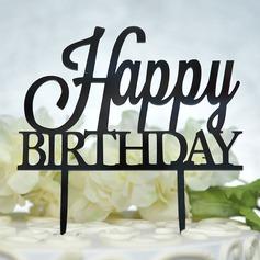 Buon compleanno Acrilico Decorazioni per torte (119156936)