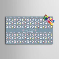 Personalisiert Fingerabdruck-Gästebuch (101201178)