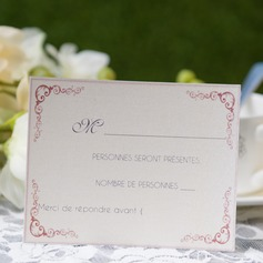 Personalized Modern Style Response Cards (Set of 50) (114063944)