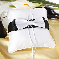 Ring Pillow in Silk With Bow/Knot (103018433)