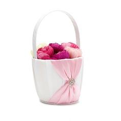 Piuttosto Cesto di fiori in Raso con Strass/Fusciacche (102049653)