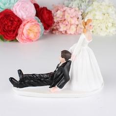 Coppia Classic/Sposa e Sposo Resina Decorazioni per torte (Venduto in un unico pezzo) (119187426)