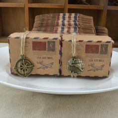 Cubique papier Boîtes cadeaux (Lot de 100) (050169449)