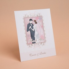 Personalized Bride & Groom Style Thank You Cards (Set of 50) (114059348)
