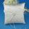 Dejligt Ringpude I Satin med Pearl/Lace (103018231)