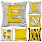 Casual elegant classic Linen Pillow Cover (203197529)