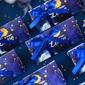 Creativo/Ensueño Triangular Papel para tarjetas Cajas y contenedores con Cintas (Juego de 24) (050203433)