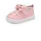 Girl's imitatieleer Flat Heel Closed Toe Flats met strik Strass Velcro (207102020)