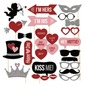 Fotobox puntelli Carta Disegno del cuore/Amano il design Fotobox puntelli Decorazioni matrimonio (131085899)