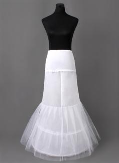 Women Nylon/Tulle Netting Floor-length 2 Tiers Petticoats (037005406)