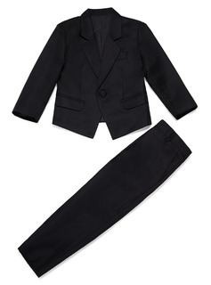 Boys 2 Pieces Solid Ring Bearer Suits /Page Boy Suits With Jacket Pants (287199759)