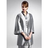 3/4-Length Sleeve Taffeta Special Occasion Wrap (013015119)