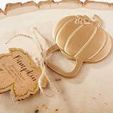 Pumpkin Zinc Alloy Bottle Openers With Tag (Set of 20) (051203317)
