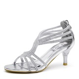 Women's Heels Modern With Rhinestone Dance Shoes (053205032)