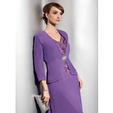 3/4-Length Sleeve Chiffon Special Occasion Wrap (013014867)