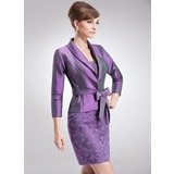 3/4-Length Sleeve Taffeta Special Occasion Wrap (013017190)