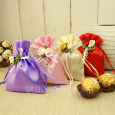 Classic Favor Bags With Flowers (Set of 12) (050047358)