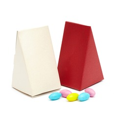 Classic Pyramid Favor Boxes (Set of 10) (050048888)