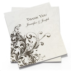 Personalized Floral Style Thank You Cards (Set of 50) (114054973)
