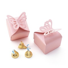 Butterfly Top Cubic Pearl Paper Favor Boxes (Set of 12) (050009750)