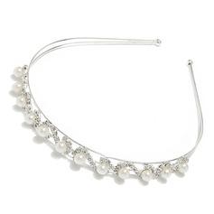 Gorgeous Alloy Pearl Headbands (042012941)