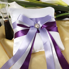 Chic Ring Pillow With Ribbons/Pearl (103018288)