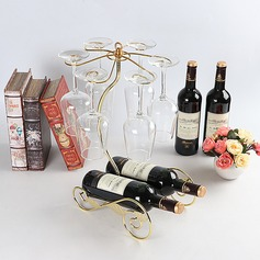 Traditional/Classic simple Plating Wine Rack (203199449)