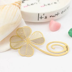 Clover Shaped Zinc Alloy Bookmarks (051016113)