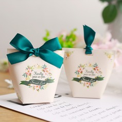 Sweet Love Other Card Paper Favor Boxes With Ribbons (Set of 50) (050197421)