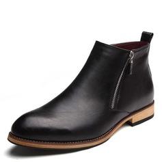 timeless design e081c 7d012 Menn Microfiber Lær Chelsea Avslappet Boots til herre (261176385)
